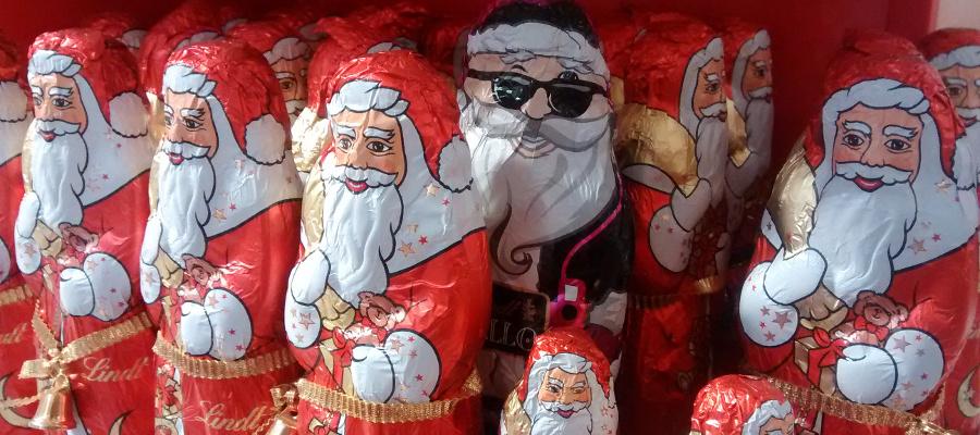 Santa Claus alemán