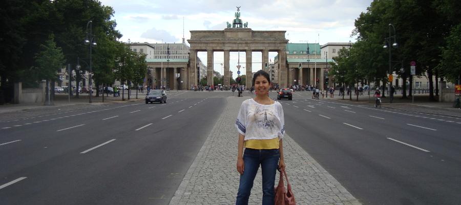 Das Brandenburger Tor Berlin