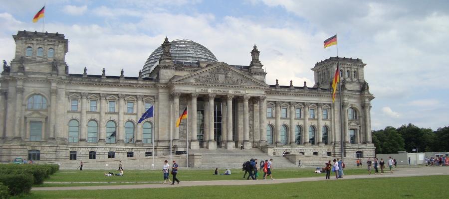 Das Reichstagsgebäude Berlin