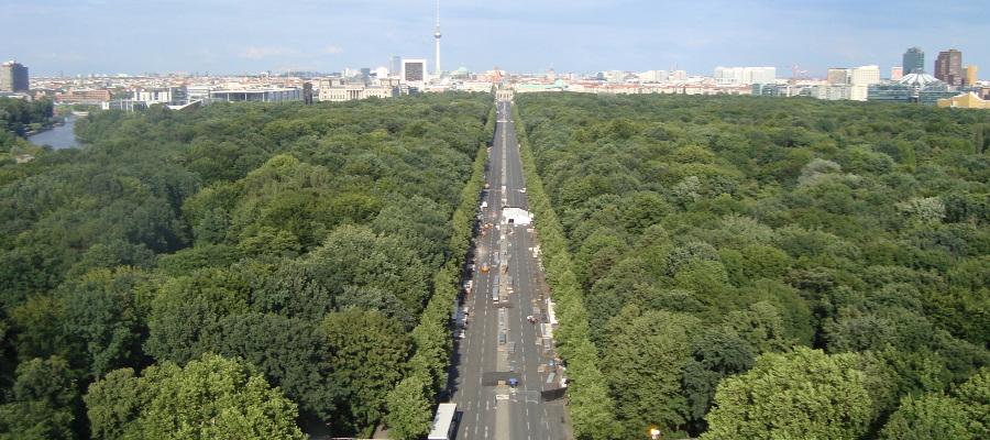 Vista desde el Siegessäule Berlin