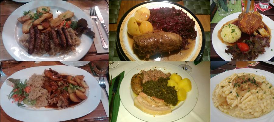 comida típica alemana