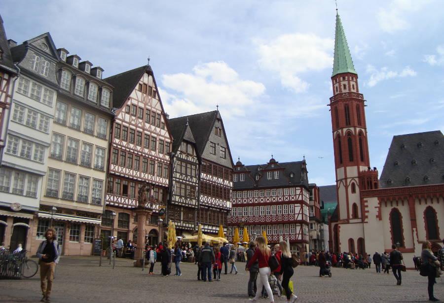 ciudad vieja Frankfurt