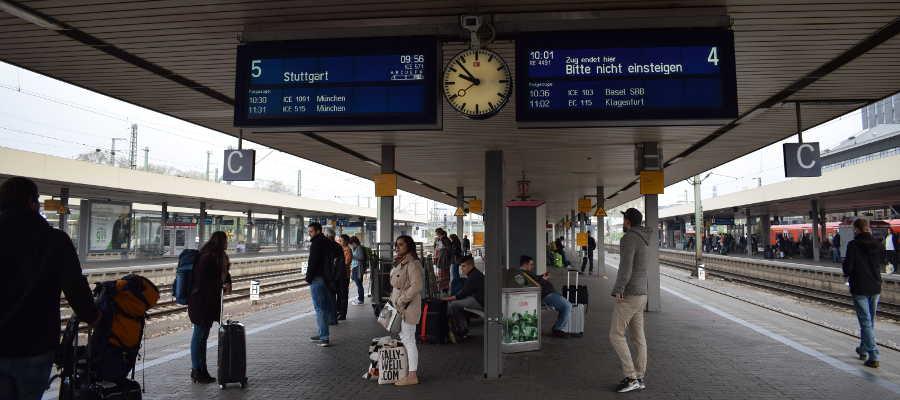 estación de tren Alemania