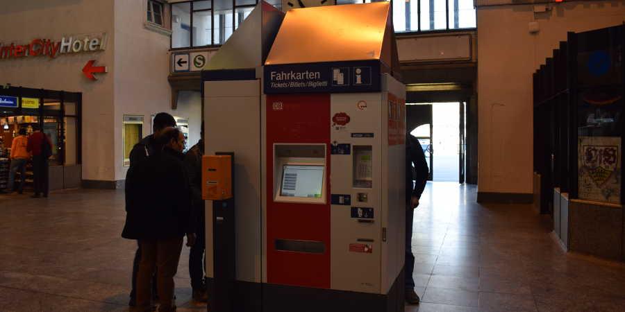 maquinas de billetes trenes alemanes